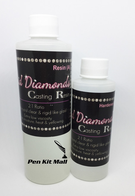 Liquid Diamonds Casting Resin 12oz Sampler