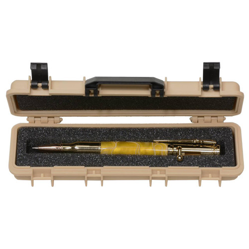 PKBOXGUN2T Tactical Rifle Case Pen Box in DESERT TAN