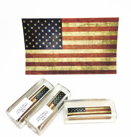 USA FLAG DISTRESSED PEN BLANK