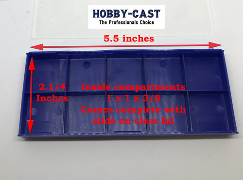 Hobby Cast Carbide Replacement Cutter Insert Holder Safety Case