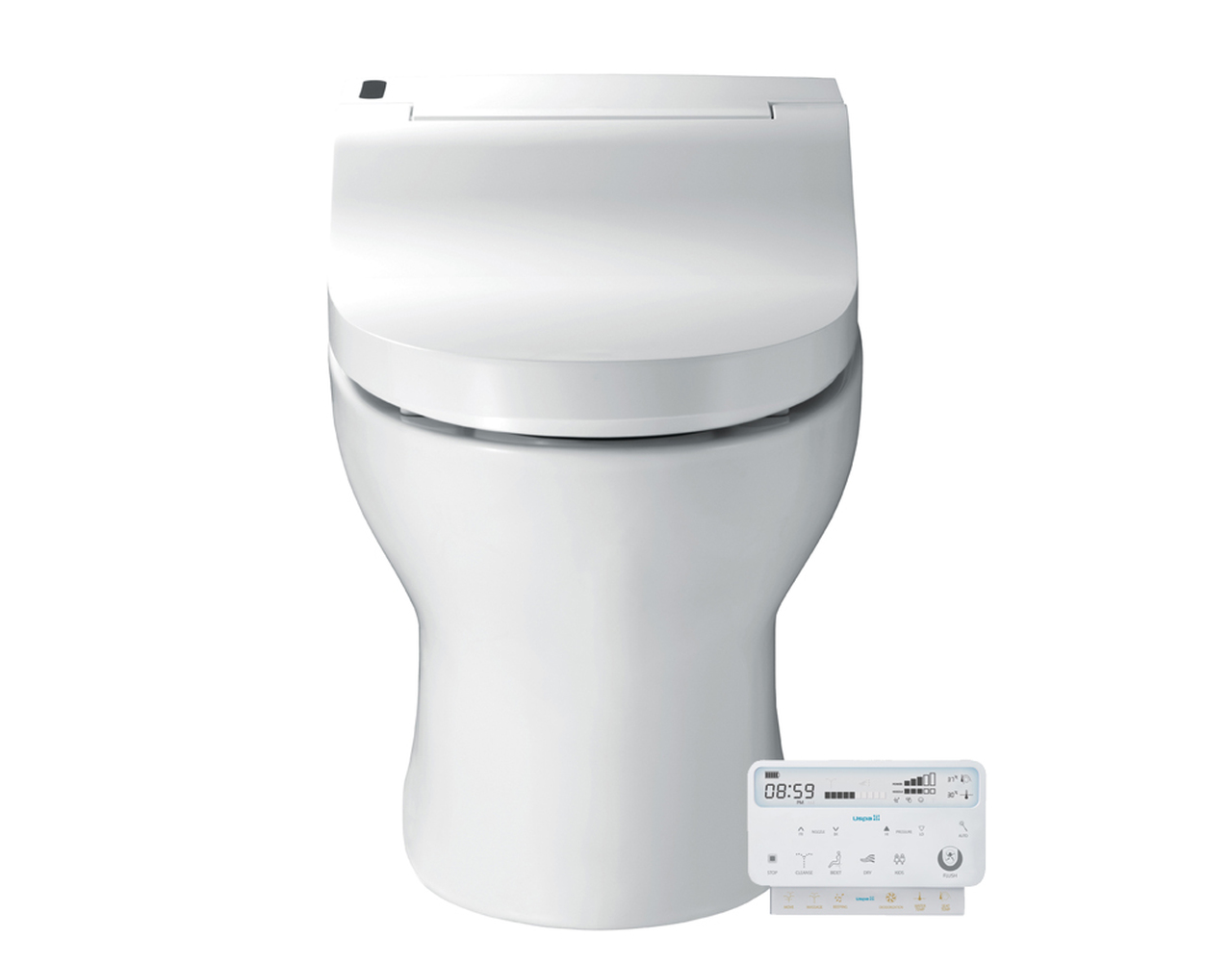 Fully Integrated Bidet Toilet Combo on