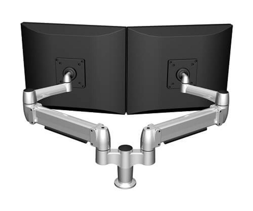 SpaceArm-Dual Monitor Arm Rear View
