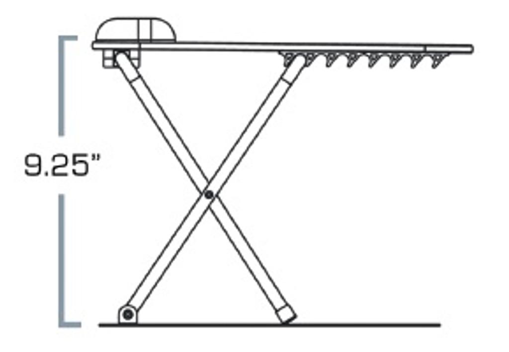 Scissor Lift Sit Stand Keyboard Tray