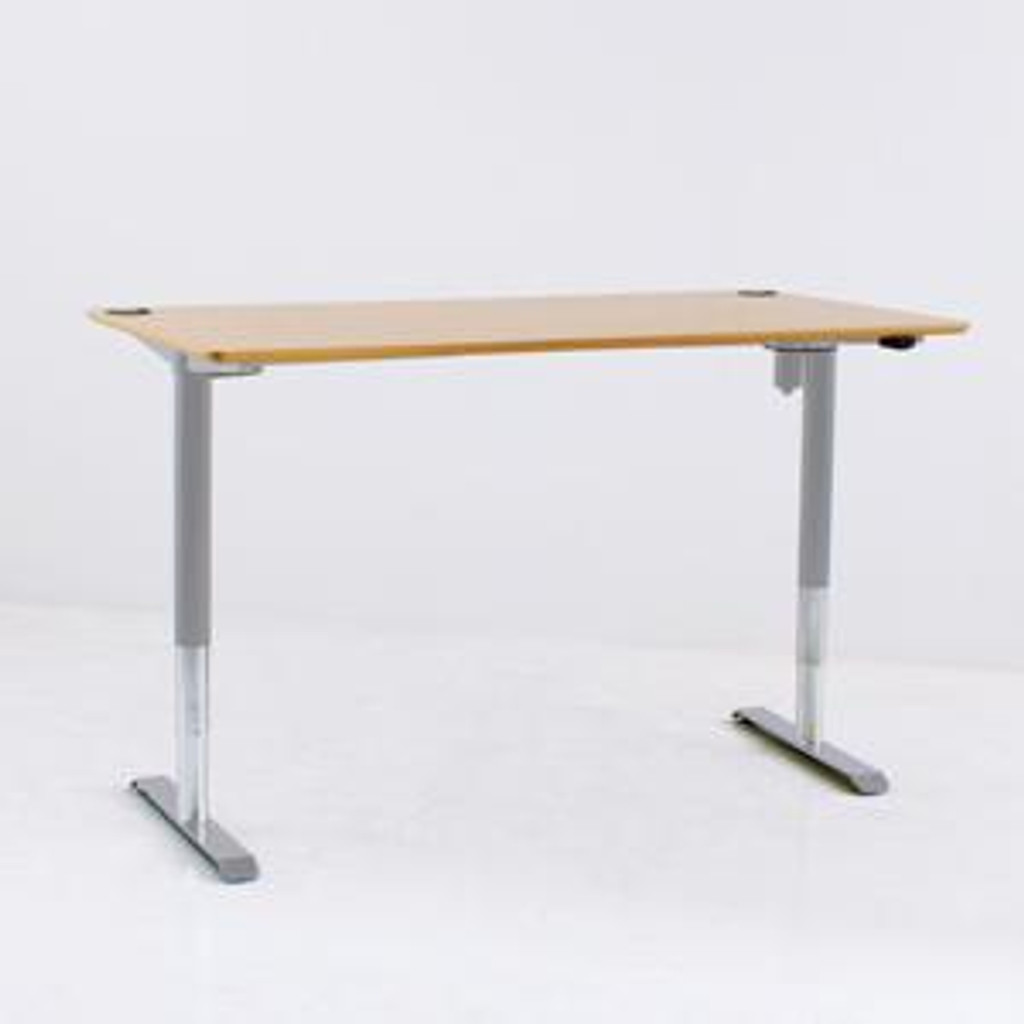 501-49 Electric Height Adjustable 3-Leg Desk (501-49) Silver