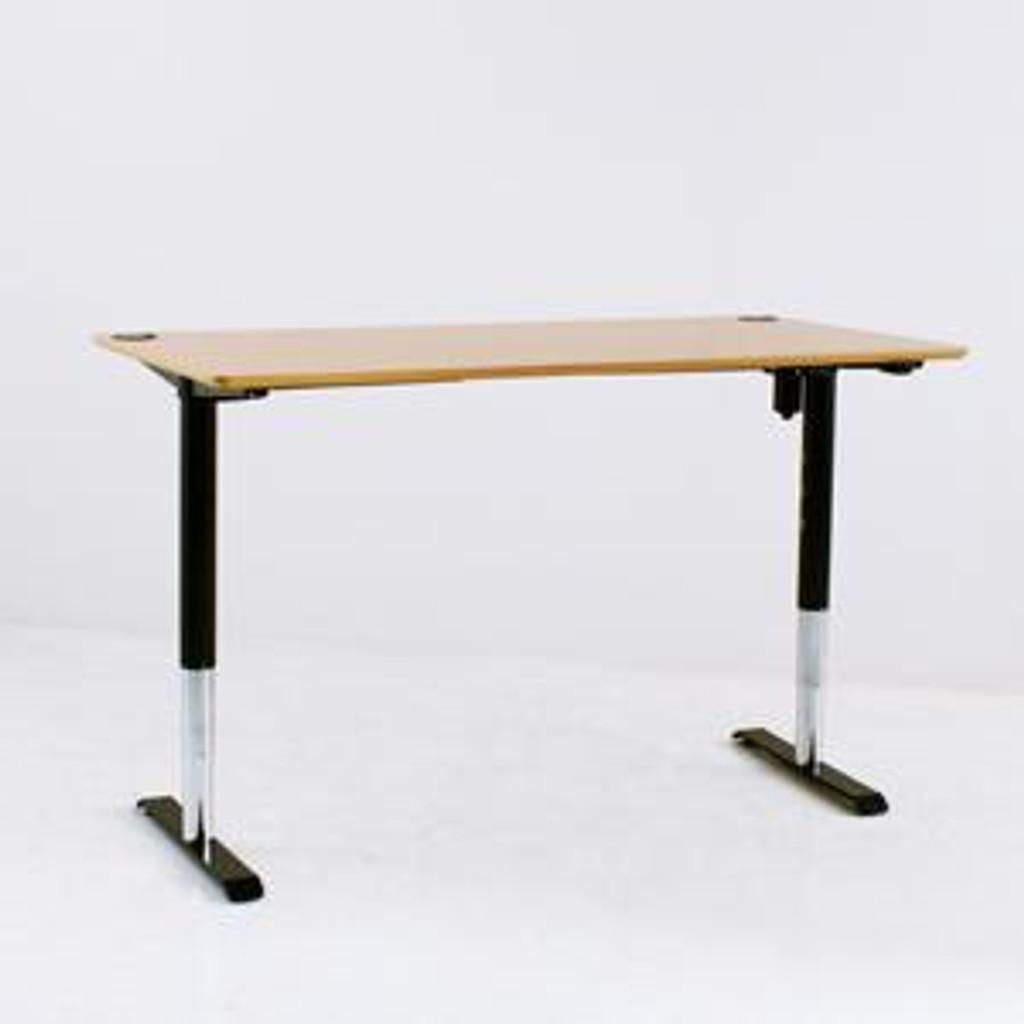 501-49 Electric Height Adjustable 3-Leg Desk (501-49) Black