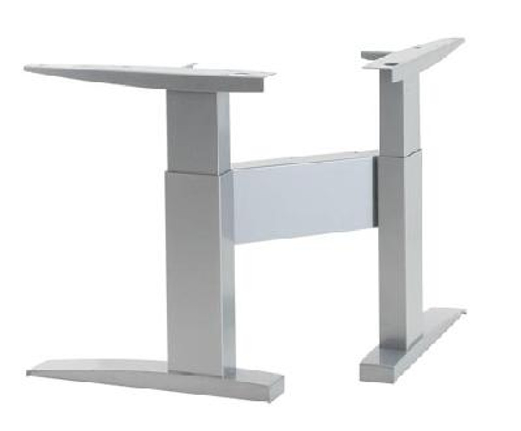 ConSet 501-11 Electric Height Adjustable Corner Frame Silver