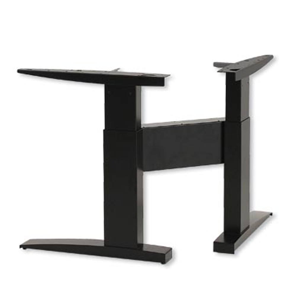 Electric Height Adjustable Corner Frame Black