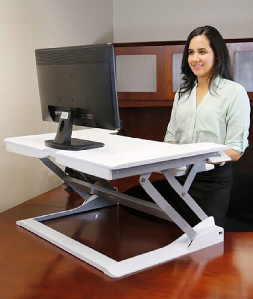 Ergotron Workfit T Workfit Tl Sit Stand Desktop Workstation