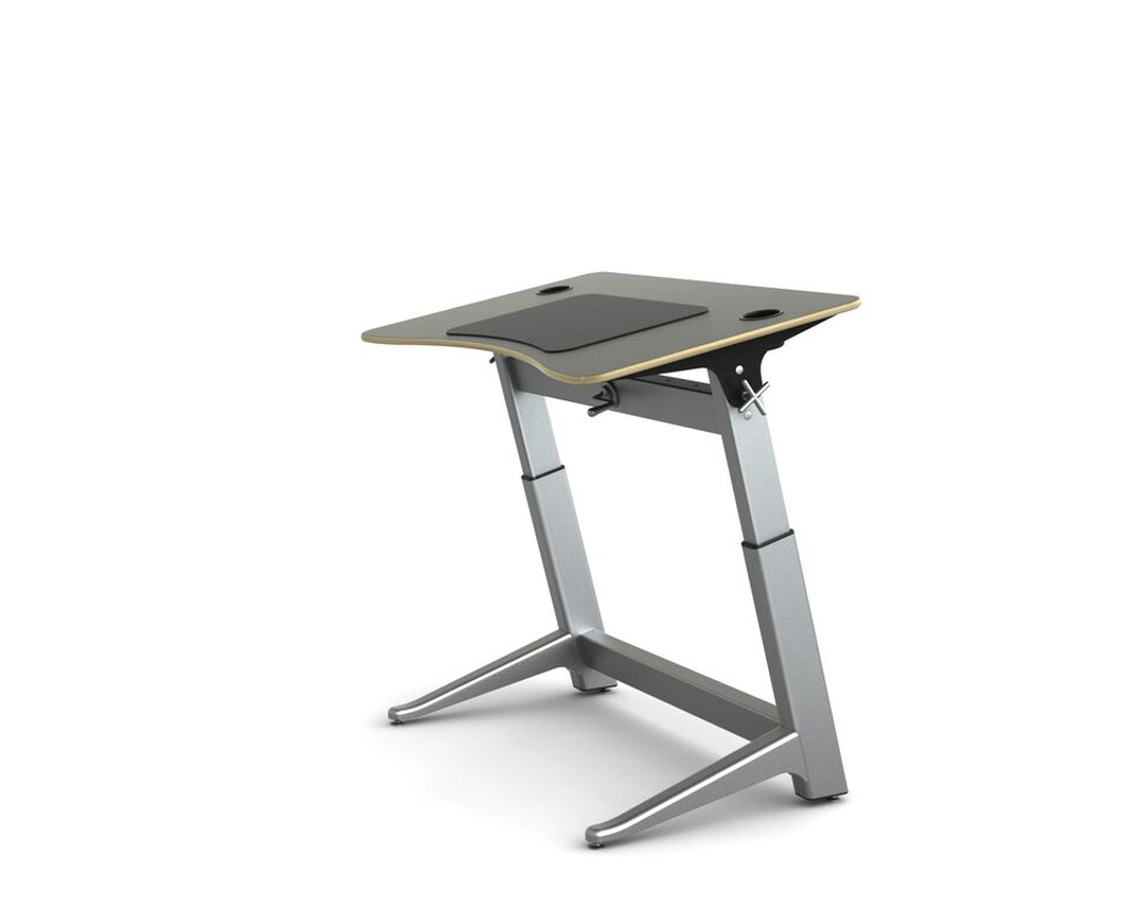 Locus Standing Desk black laminate top