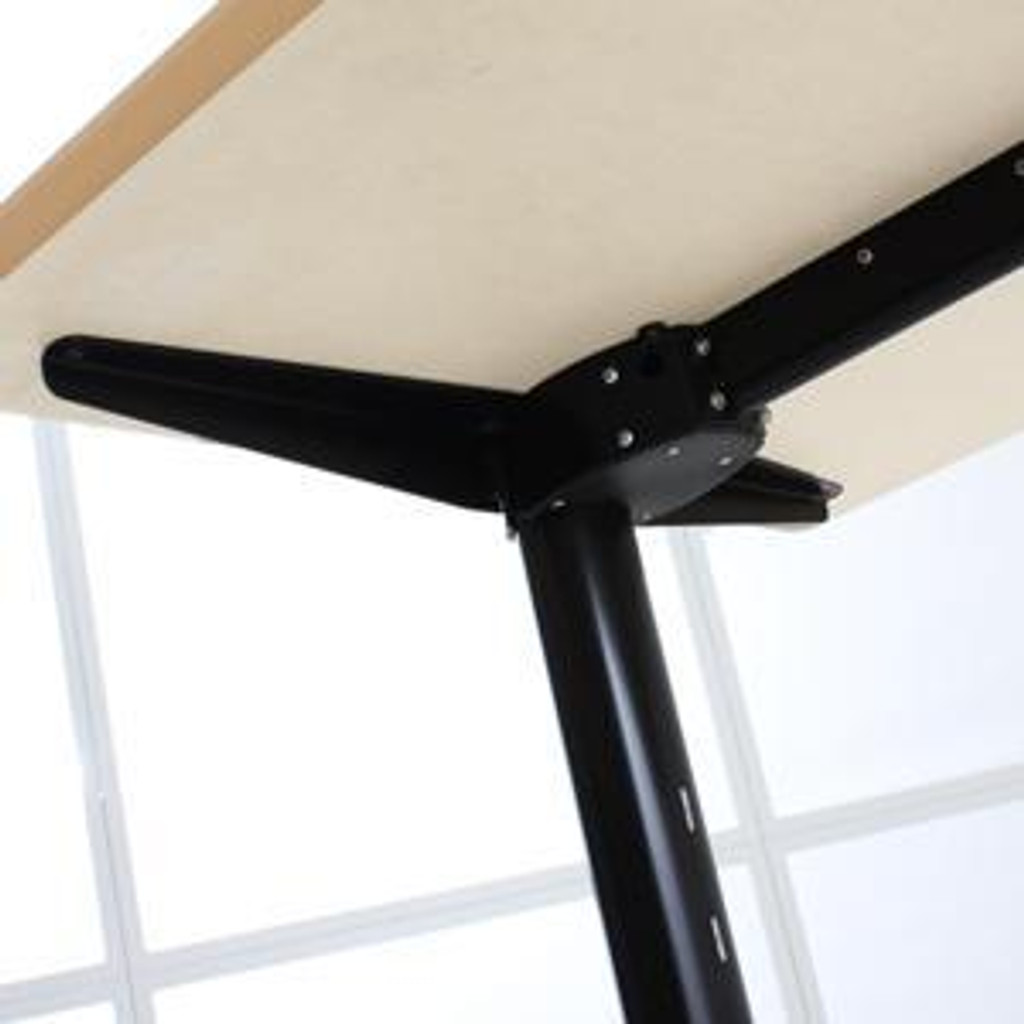 501-11 Electric Height Adjustable 3-Leg Underside View