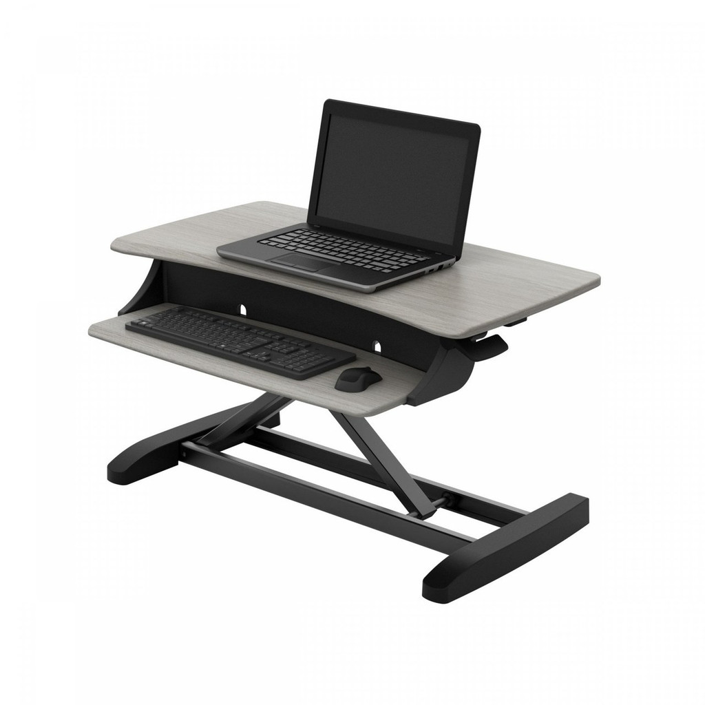 WorkFit-Z Sit-Stand Desktop Workstation (33-458-917)