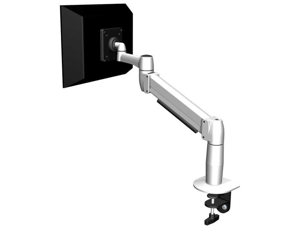 SpaceArm Single Monitor Arm - back view