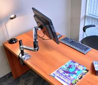 Charmant ... Ergotron LX Desk Mount LCD Arm, Tall Pole (45 295 026)