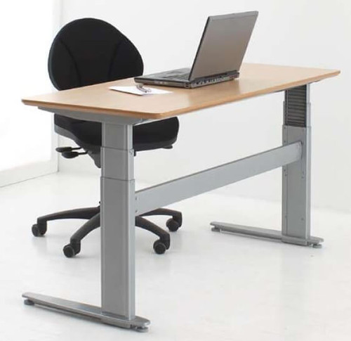 ConSet 501-27 Electric Height Adjustable 2-Leg Desk