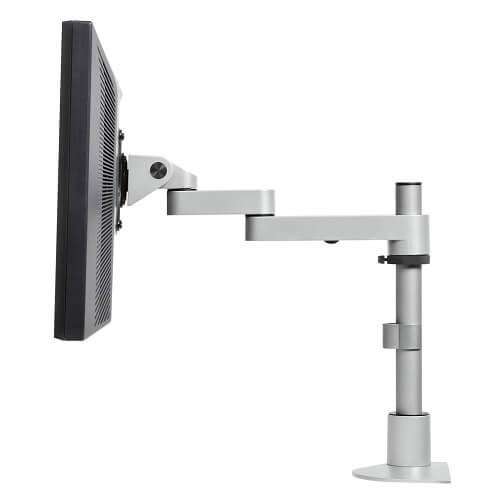 "Single Tier Foldable LCD Arm with 14"" Pole"