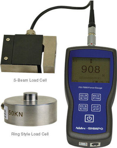 Shimpo FG-7000L Digital Force Gauge