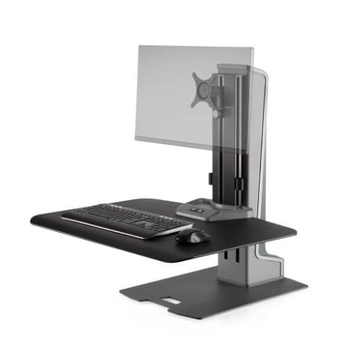 Winston-E Sit-Stand Workstation Single Monitor Mount (WNSTE-1)
