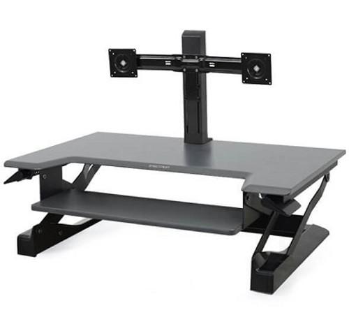 WorkFit Dual Monitor Mount Kit