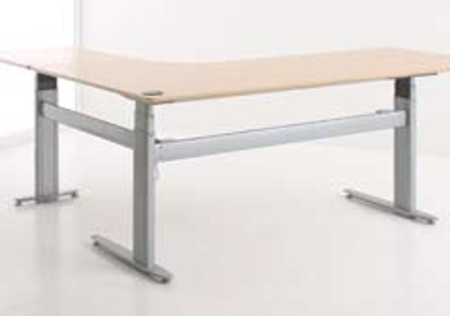 501-25 Electric Height Adjustable 3-Leg Desk