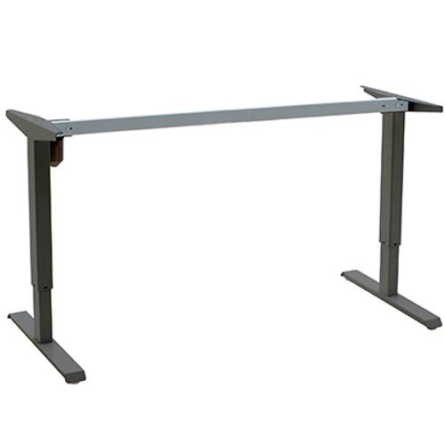 501-33 Electric Height Adjustable 2-Leg Desk (501-33 2-Leg) Black