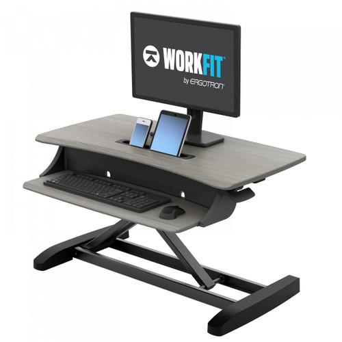 WorkFit-Z Sit-Stand Desktop Workstation (33-458-917)