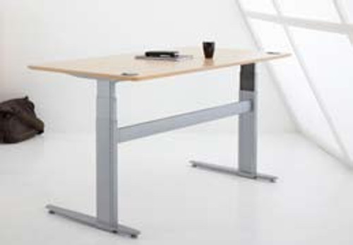 501-29 Electric Height Adjustable 2-Leg Desk