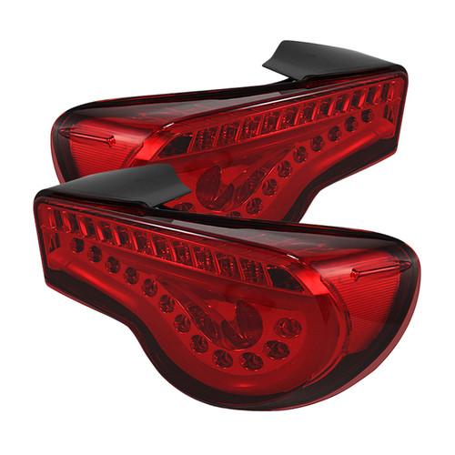 Toyota 86 /Scion FRS LED Tail Lights with sequential turn signal (Red)