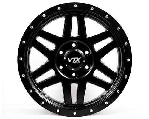 VTX Viper - Satin Black 18 x 9 in.