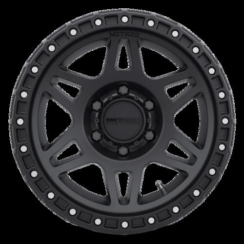 MR312 Matte Black Method Race Wheels