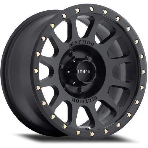 MR305 Matte Black NV Method Race Wheels