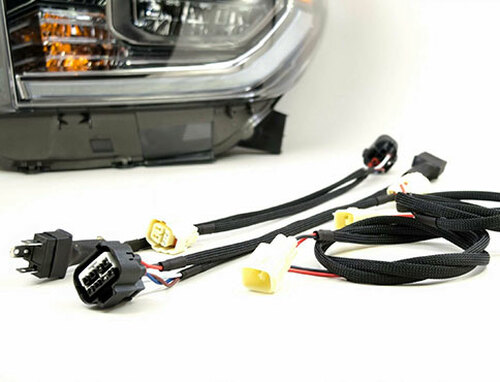 2014-2017 Tundra LED Wire Harness and DRL Conversion kit (PAIR)