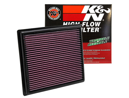 2018 Camry K&N Engine Air Filter - Fits both L4 and V6 engines