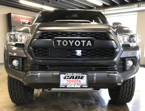 2018 Toyota Tacoma TRD PRO Grille with Sensor Cover.