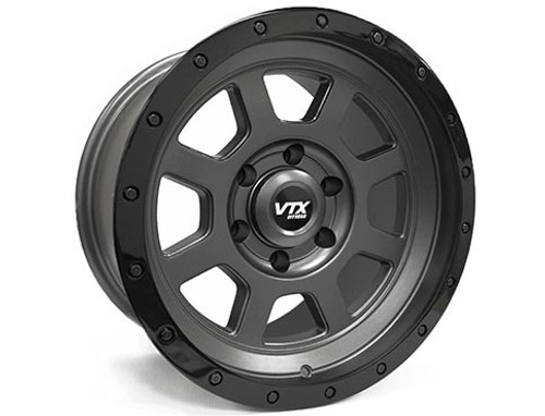 VTX Rebel - Satin Gunmetal 16x8 for Toyota Tacoma or 4Runner