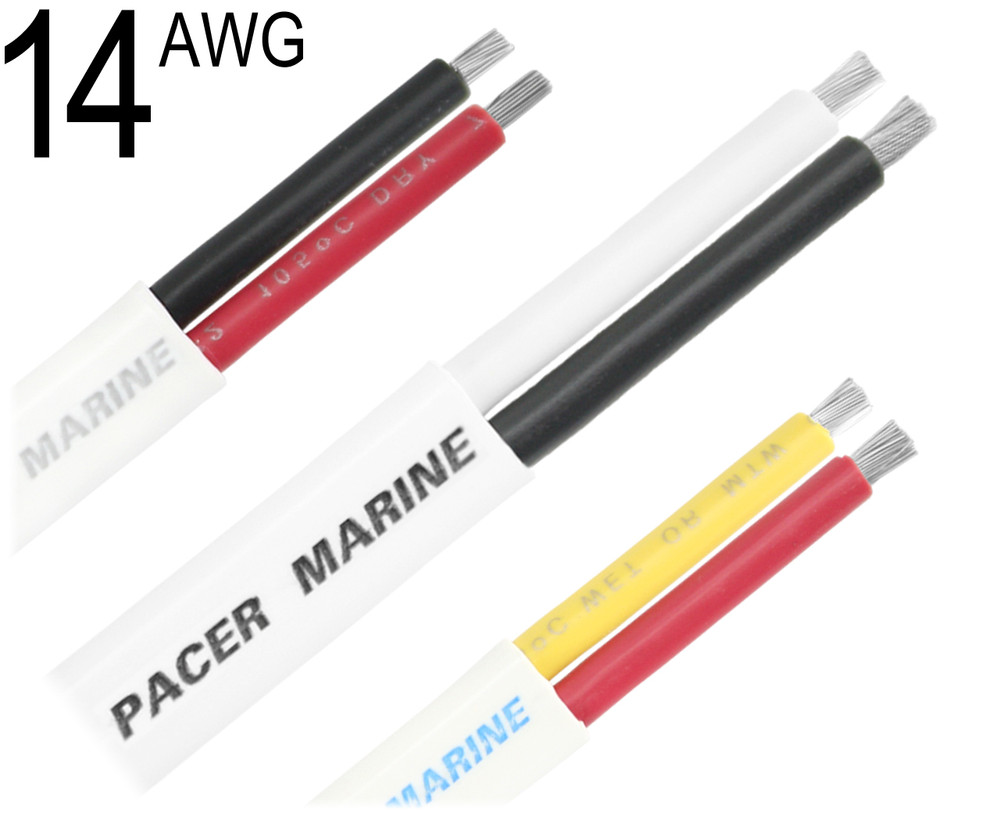 14 gauge marine wire duplex cable 14 awg w142 greentooth Images