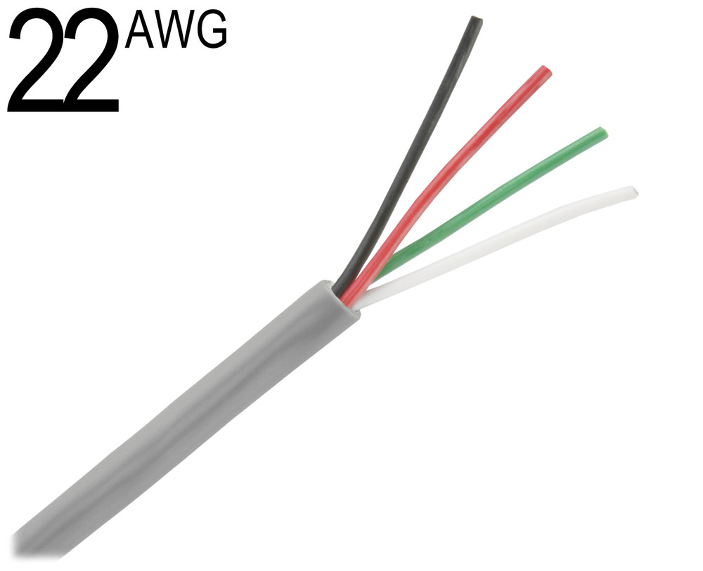 Shielded Multiconductor Cable, 22 AWG