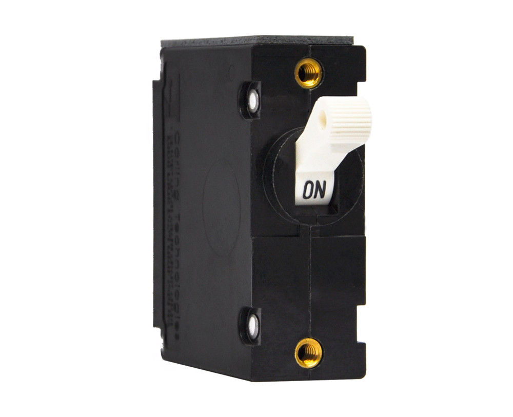 Magnetic Circuit Breakers, A Series, Double Pole, Single Throw