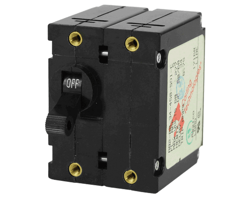 Magnetic Circuit Breakers  A Series  Double Pole  Single Throw