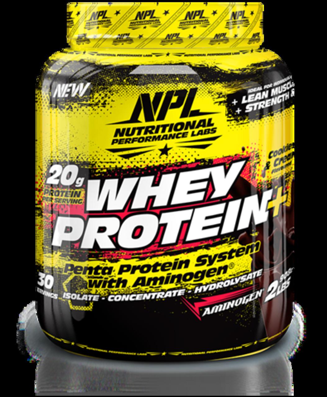 NPL Whey Protein Cookies & Cream