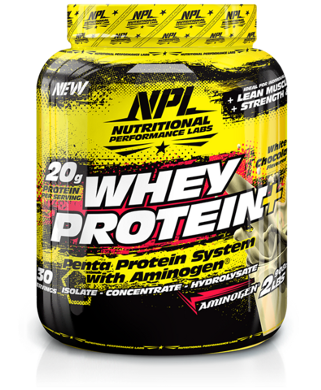 NPL Whey Protein White Chocolate