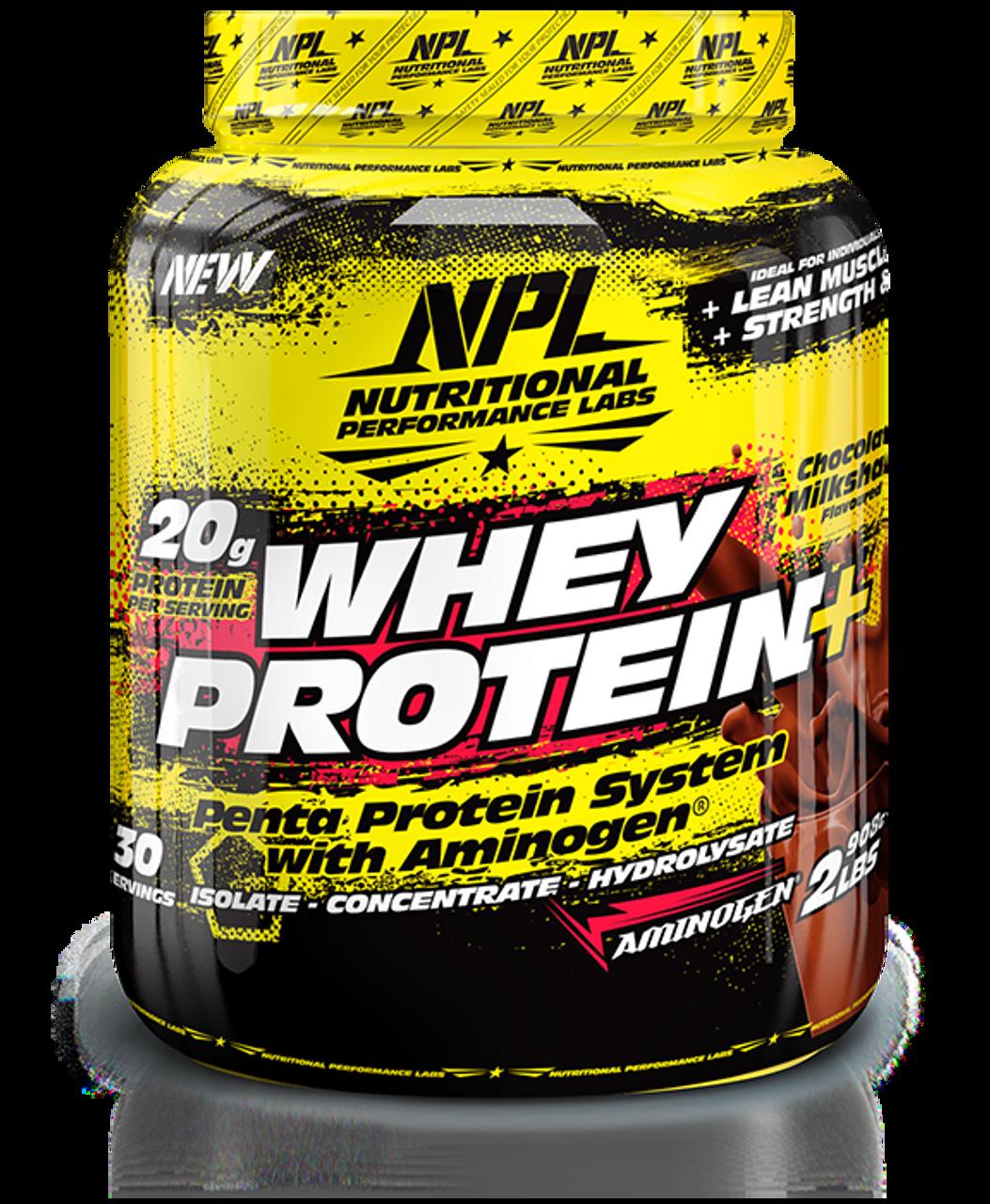 NPL Whey Protein Chocolate Milkshake