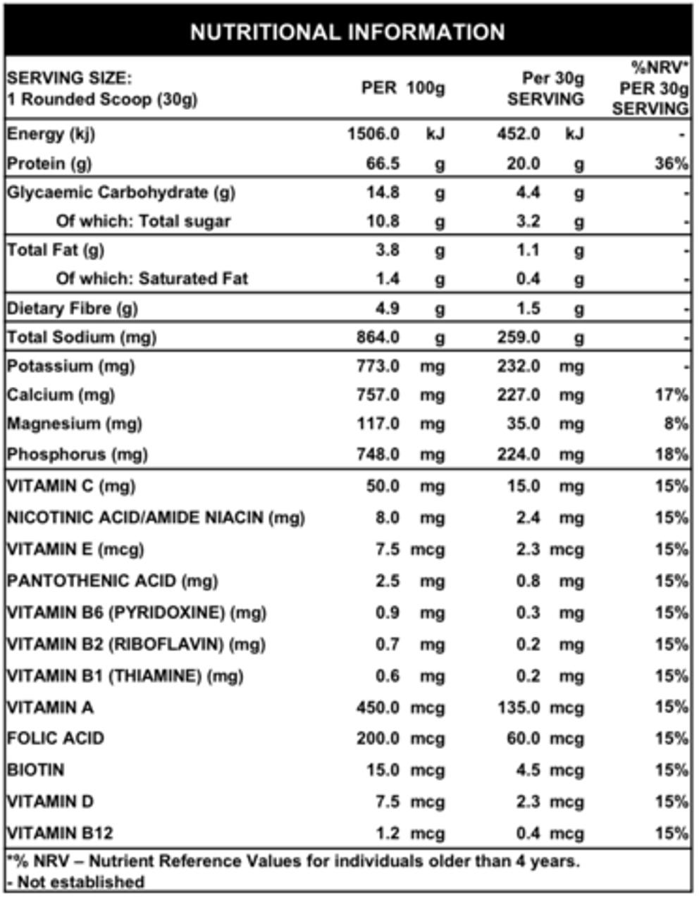 Whey Protein - 908g