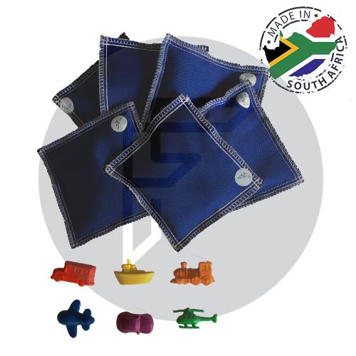 Hidden Objects Bean Bags - Transport (Set of 6)