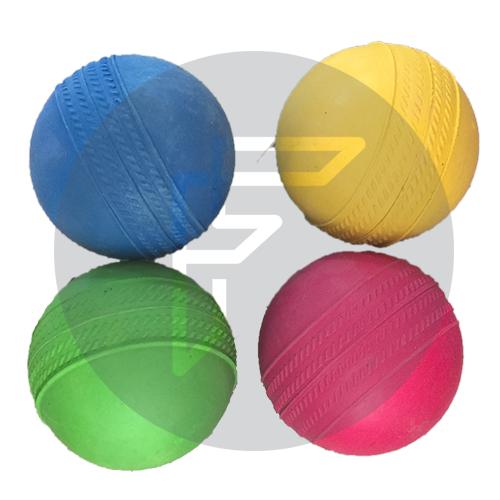 Rubber Balls - Set of 4