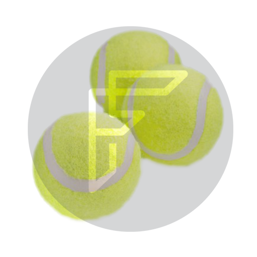 tennis balls to develop catching and throwing