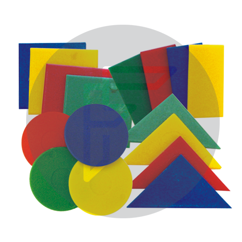 Logi shapes for use with logi cards