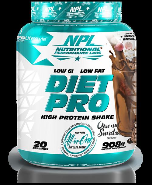 Diet Pro Shake Choc Nut Sundae