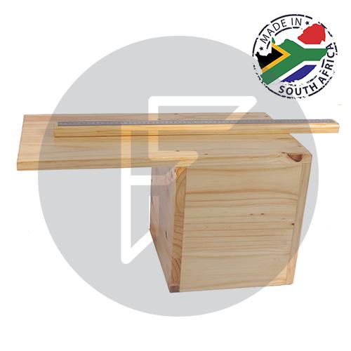 Wooden Sit & Reach Box