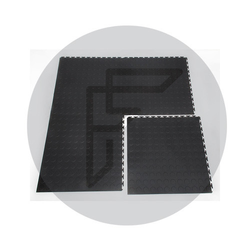 Interlocking Flooring Stud Black