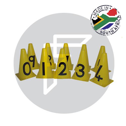 Number Cones Set of 10